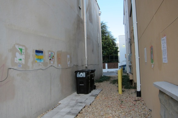 Alleyway in Tampa